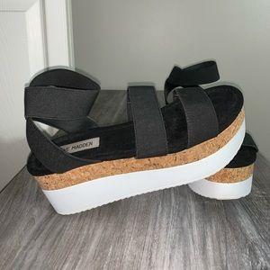 platform steve madden sandals